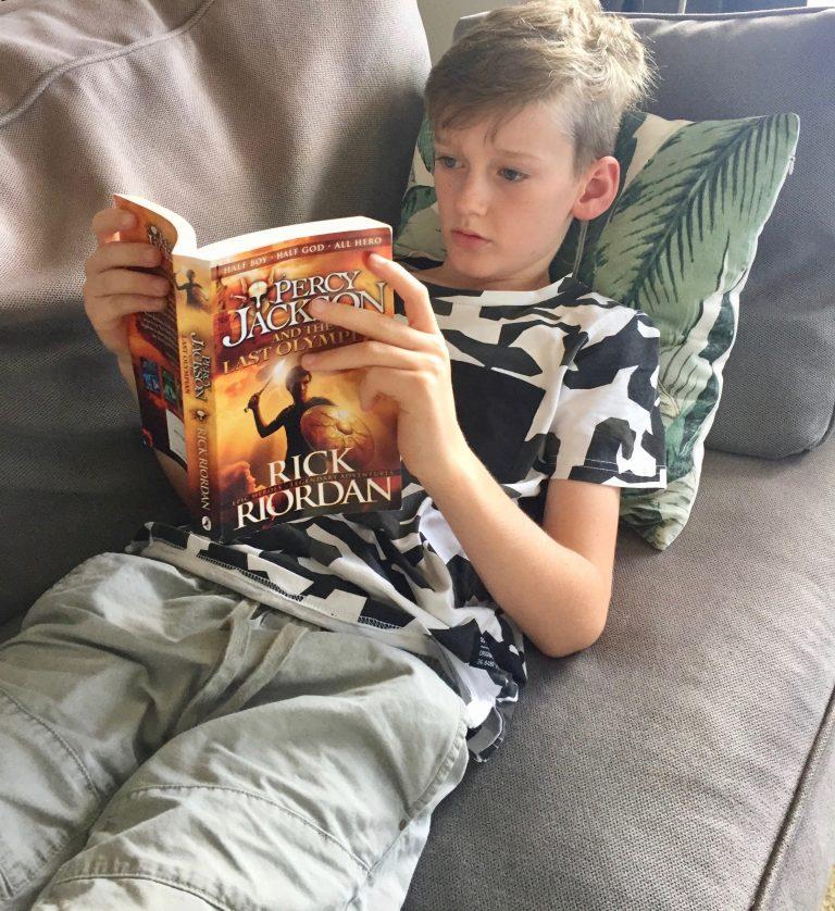 Reading nook reading for pleasure