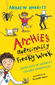 Bookwagon Archie's Unbelievably Freaky Week