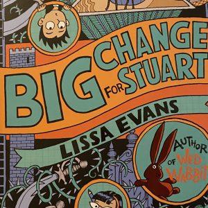 Bookwagon Big Change for Stuart