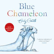 Bookwagon Blue Chameleon