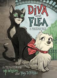 Bookwagon Diva and Flea A Parisian Tale