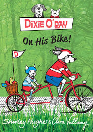 Bookwagon Dixie O'Day On His Bike
