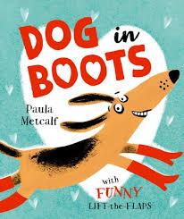 Bookwagon Dog in Boots