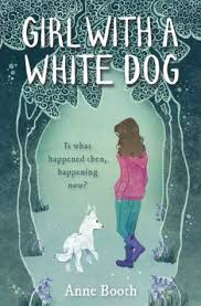 Bookwagon Girl With a White Dog