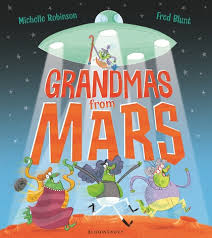 Bookwagon Grandmas from Mars