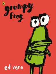 Bookwagon Grumpy Frog