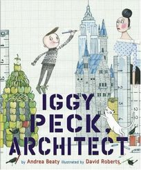 Bookwagon Iggy Peck, Architect