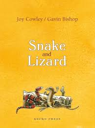 Bookwagon Snake and Lizard