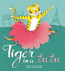 Bookwagon Tiger in a Tutu