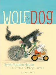 Bookwagon Wolf and Dog