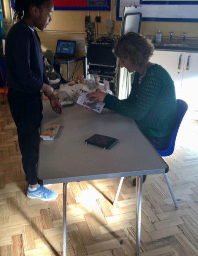 Emma Carroll signing