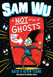 Bookwagon Sam Wu is Not Afraid of Ghosts