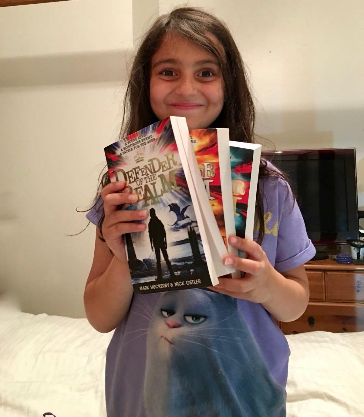 Bookwagon Defender trilogy