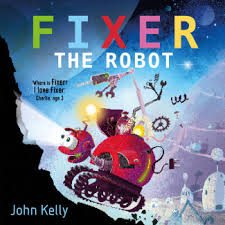 Bookwagon Fixer the Robot