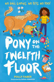 Bookwagon Pony on the Twelfth Floor