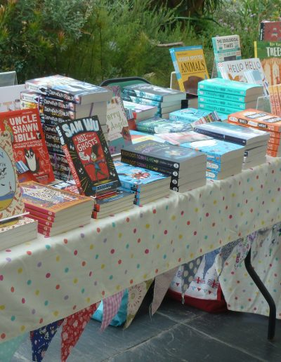 Book fair at National Botanical Gardens, Wales