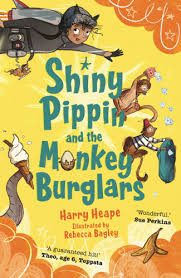 Bookwagon Shiny Pippin and the Monkey Burglars