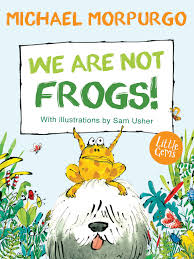 Bookwagon We Are Not Frogs