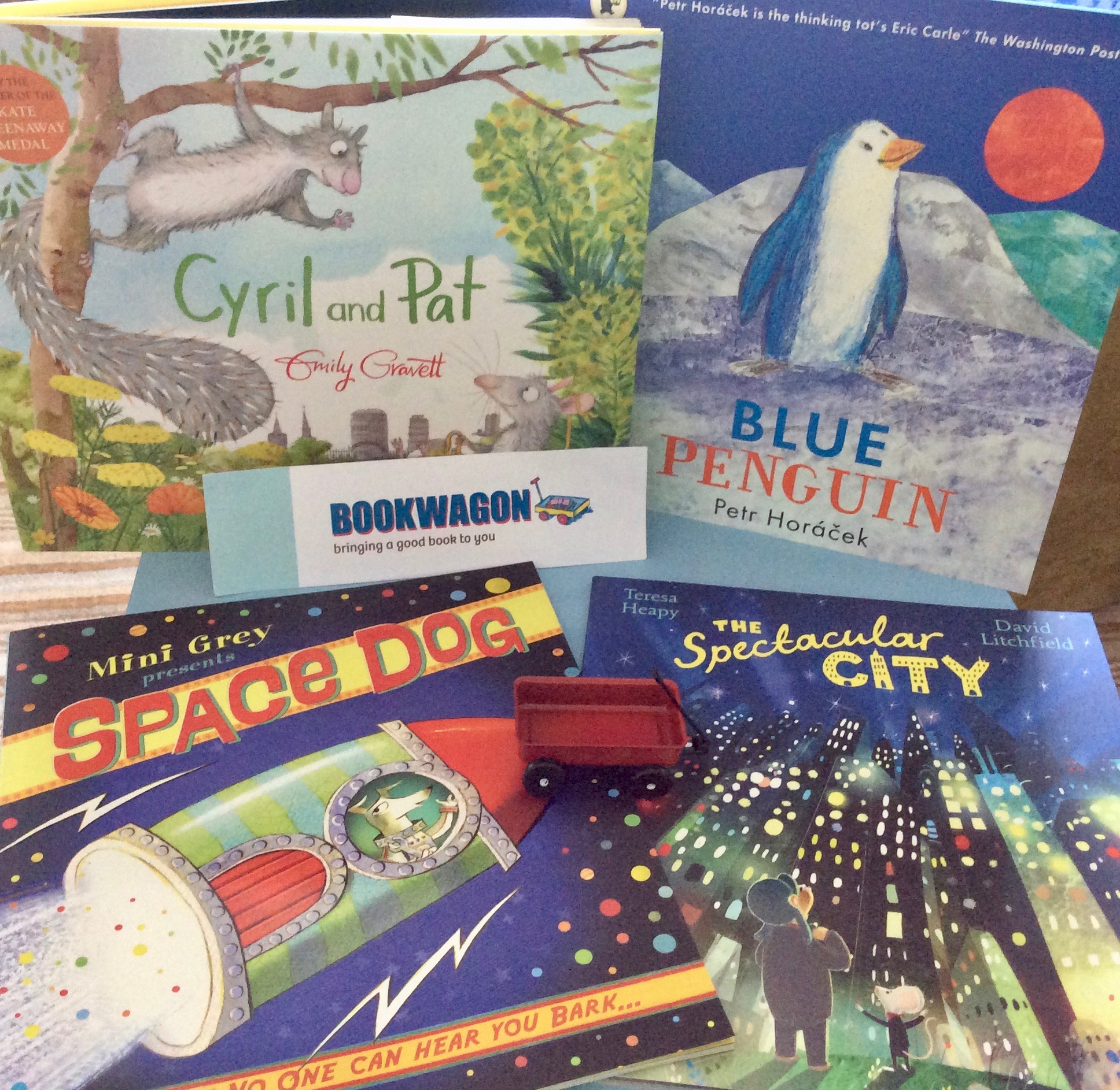 Bookwagon picture book selection