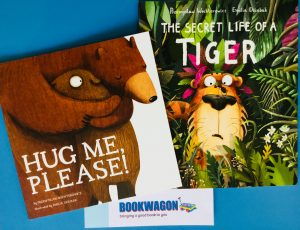 Bookwagon blog Hug Me Please! and The Secret Life of a Tiger