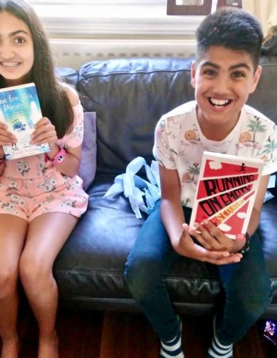 Bookwagon gift books for two