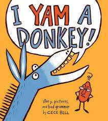 Bookwagon I Yam a Donkey