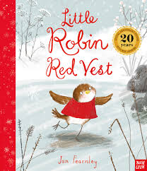 Bookwagon Little Robin Red Vest