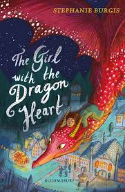 Bookwagon The Girl with the Dragon Heart