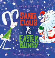 Bookwagon Santa Claus Vs The Easter Bunny