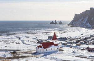 Bookwagon Icelandic village