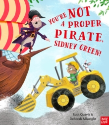 You're Not A Propoer Pirate, Sidney Green cover image