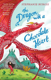 Bookwagon The Dragon with a Chocolate Heart