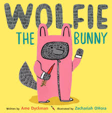 Bookwagon Wolfie The Bunny