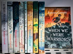 Bookwagon Emma Carroll's titles