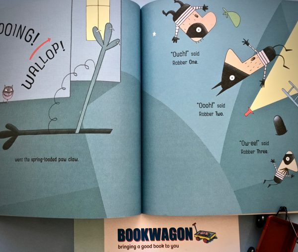 Bookwagon extract Cats and Robbers