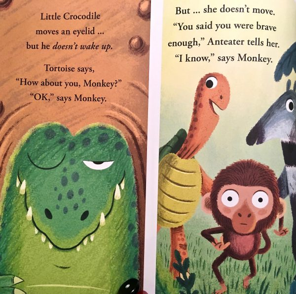 Bookwagon extract Kiss the Crocodile