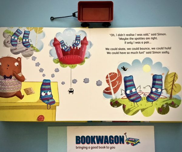 Bookwagon extract Simon Sock