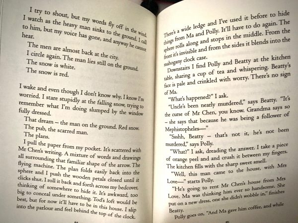 Bookwagon extract The Boy Who Flew