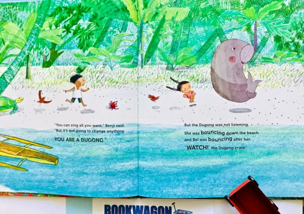 Bookwagon extract from 'Is It a Mermaid?'