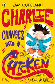 Bookwagon Charlie Changes Into A Chicken