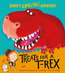 Bookwagon George's Amazing Adventures Treats for a T-Rex