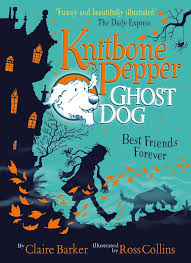 Bookwagon Knitbone Pepper Ghost Dog Best Friends Forever