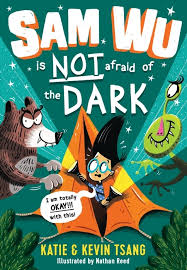 Bookwagon Sam Wu is NOT afraid of the Dark