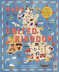 Bookwagon Maps of the United Kingdom