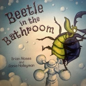 Bookwagon Beetle in the Bathroom