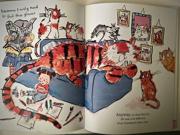 Bookwagon extract Big Cat