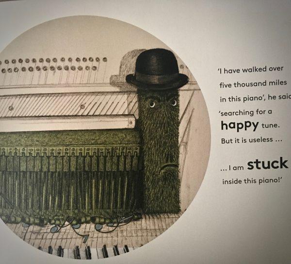 Bookwagon extract The Cranky Caterpillar
