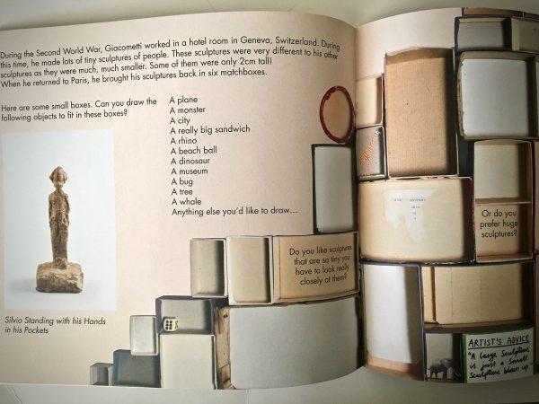 Bookwagon extract Meet the Artist Alberto Giacometti