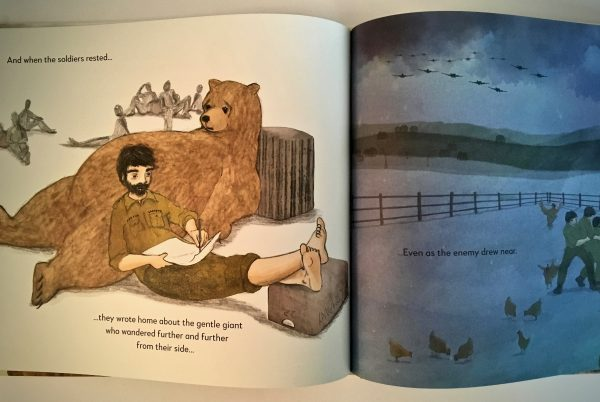Bookwagon extract The Bear Who Went to War