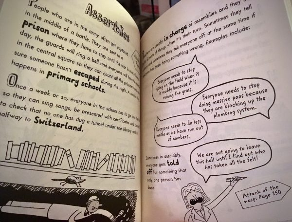 Bookwagon extract The Funny Life of Teachers